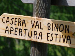 Cartello indicazione Casera